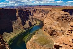 Kehre bei Arizona USA Stockbilder