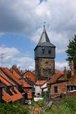 Kehrwiederturm. Ancient tower in the German city of Hildesheim Royalty Free Stock Images