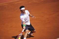 Kei Nishikori Open 2014 ATP 500 Royalty Free Stock Photography