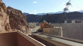 Keidam in de Rivier van Colorado, op de grens tussen de staten van de V Royalty-vrije Stock Afbeeldingen