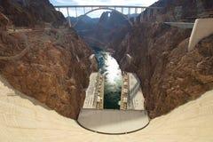 Keidam in de Rivier van Colorado, op de grens tussen de staten van de V royalty-vrije stock afbeelding