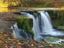 Keila-Joa Falls in autumn Stock Photo