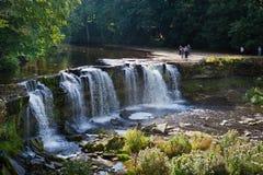 Keila vattenfall, Estland Arkivbild