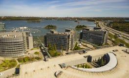 Keilaniemi, Espoo, Microsoft kwatery główne zdjęcia royalty free