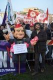 Kein Berlusconi Tag Lizenzfreies Stockbild