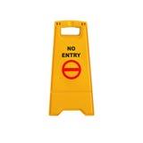 Kein Eintrittszeichen Lizenzfreies Stockbild