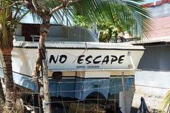 Kein Entweichen Costa Rica lizenzfreie stockbilder