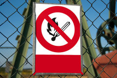 Kein Feuer Stockbilder