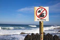 Kein Fischen stockfoto
