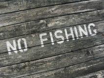 Kein Fischen lizenzfreies stockbild