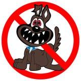 Kein Hundezeichen Stockbilder