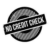 Kein Kreditsprüfungsstempel Stockfotos
