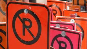 Kein Parken Lizenzfreie Stockfotos