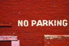 Kein Parken Lizenzfreie Stockbilder