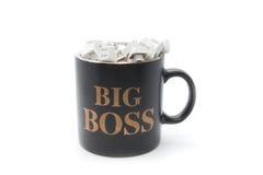 Kein Rest für Big Boss Stockbilder