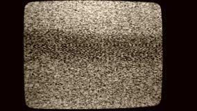 Kein Signalbildschirm stock video