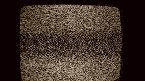 Kein Signalbildschirm stock video footage