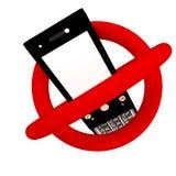 Kein Telefon Lizenzfreie Stockfotos