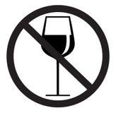 Kein trinkendes Zeichen Stockbilder