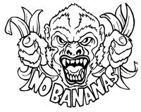 Keine Bananen Lizenzfreie Stockfotografie