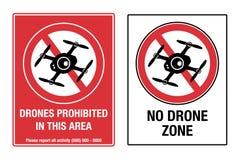 Keine Brummen-Zone Lizenzfreie Stockfotografie