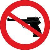 Keine Gewehren Lizenzfreie Stockfotografie