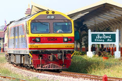 Keine Hitachi-Lokomotive 4519 Stockfotografie