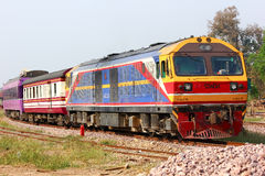 Keine Hitachi-Lokomotive 4519 Lizenzfreie Stockfotos