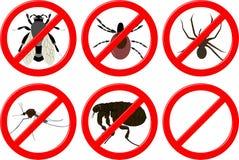 Keine Insekten stockbilder