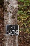 Keine Jagd Lizenzfreie Stockfotos