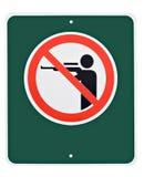 Keine Jagd Lizenzfreie Stockbilder