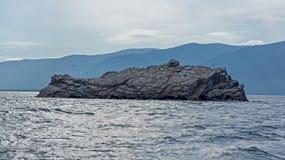 Keine Namensinsel, See Baikal Stockfotografie