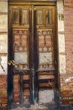 Keine Tür 12 ist geschlossen Stockfoto