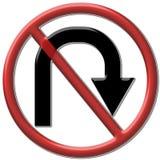 Keine u-Kurve stock abbildung