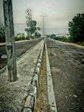 Keine Verkehrsstraße stockfotografie