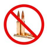 Keine Waffe erlaubt lizenzfreies stockfoto