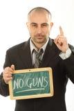 Keine Waffen Lizenzfreie Stockfotografie