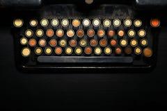 KEINE WORT-Schreibmaschinenmetapher Lizenzfreies Stockbild