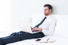 Keine Zeit sich zu entspannen Lizenzfreie Stockfotos