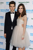 Keira Knightley. James Righton and wife, actress, Keira Knightley arrives for the SeriousFun Childrens Network London Gala 2013 at the Roundhouse, Camden, London Stock Photo