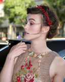 Keira Knightley arrives at the  Royalty Free Stock Photography