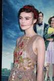 Keira Knightley chega no   Imagens de Stock Royalty Free