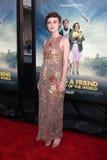 Keira Knightley kommt in an   Lizenzfreies Stockbild