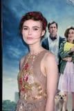 Keira Knightley llega   fotografía de archivo