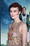 Keira Knightley obtient au   Images stock