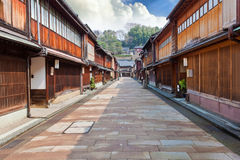 Keisha village at Kanazawa Stock Image