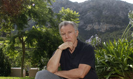 Keitel 017. American actor and producer Harvey Keitel pose during his staying in Palma de Majorca, Spain royalty free stock image