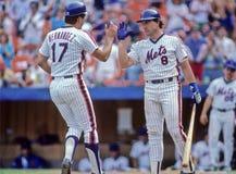 Keith Hernandez en Gary Carter Royalty-vrije Stock Fotografie