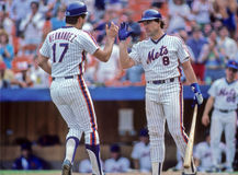 Keith Hernandez and Gary Carter Royalty Free Stock Photography