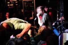 Keith Morris sous tension à Toronto l'octobre 2012 C Image libre de droits